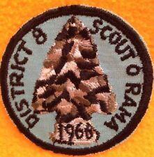 BSA District 8 Scout-O-Rama Patch 1966 N E W !