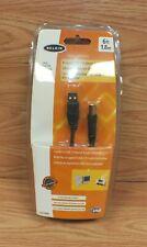Genuine Belkin Hi-Speed USB 2.0 A Male / B Male 6ft 1.8mm Cable