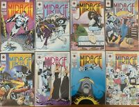 The Second Life of Dr. Mirage by Valiant Lot of 8 Issues 1 - 8