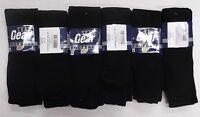 Team Gear Football Socks Black Size Medium (Dozen)