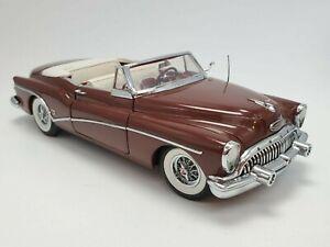 Danbury Mint 1953 Buick Skylark Convertible 1:24 Die-Cast Maroon Color