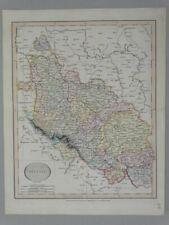 Schlesien Wroclav Polen Poland Breslau Kupferstich engraving Karte map Cary 1813