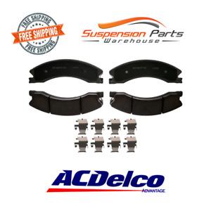 4 Disc Brake Pads Ceramic Front Fits 11-16 Chevrolet Silverado 2500HD 3500HD