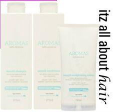 Nak Aromas Smooth Shampoo Conditioner & Smoothing Creme Trio Nak Approved