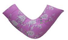 V Shaped Pillowcase for Back & Neck, Orthopedic/Pregnancy/Nursing/Baby Feeding