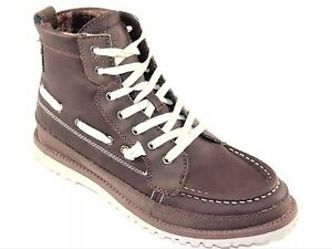 Stacy Adams Men's Passenger Brown Faux Leather Casual Boot Style#53368-200
