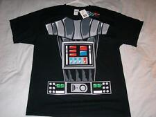I am Darth Vader Headless Halloween Costume STAR WARS Black T-shirt Men's Lg NWT