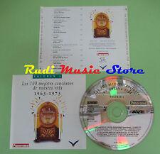 CD 100 CANCIONES NUESTRA VIDA 1963-1973 VOL 4 compilation PROMO 1993 (C28)