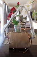 NWOT JPK Paris 75 Light Taupe Leather Nylon Crossbody Bag (900