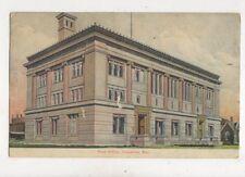 Post Office Cheyenne Wyoming USA Vintage Postcard 953a