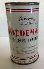 Wiedemann Fine Beer flat top can Honest to Goodness Newport Ky Kentucky 1950s