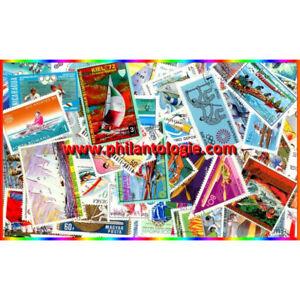 Sports Nautiques timbres thématiques tous différents.