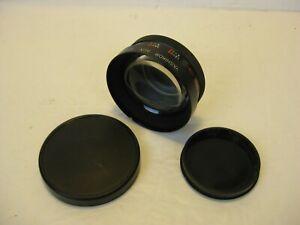 Yashica Yashikor Aux Telephoto 1:4 Lens for Yashica Electro 35 front back covers