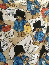 Vintage Paddington Bear Single Duvet Cover Bedcover
