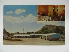Vintage 1960's Postcard - Capri Motel & Cafe, Raton, NM - Unused