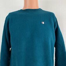 Champion Reverse Weave Basic Crewneck Sweatshirt Vtg 90s C Logo Made USA Size L