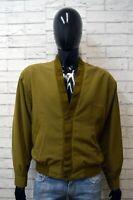 Giacca AQUARIUM Uomo Taglia L Blazer Jacket Veste Verde Vintage Jacke Giubbotto