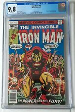 IRON MAN 96 NM/M Mint CGC 9.8 WHITE pages 1st Appearance of Guardsman II
