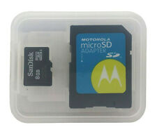 Motorola Universal SD SanDisk Micro sd card w/ SDCard Adapter for Handheld 8gb