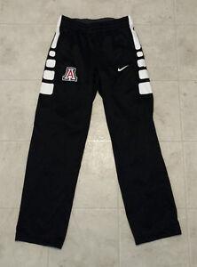 Nike Women's Medium Arizona Wildcats Elite Stripe Pant Basketball Black White