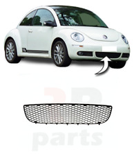 FOR VW BEETLE 2005 - 2010 NEW FRONT BUMPER LOWER CENTER MESH GRILLE BLACK