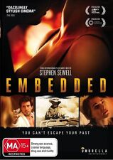 Embedded (DVD, 2017) N Barkla, L Gordon, M Johnson, P Phelps R Harrison LIKE NEW