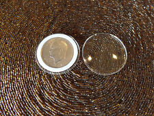 10 Size I Air-Tite Holders with 38mm White Insert Rings  for US Silver Dollars