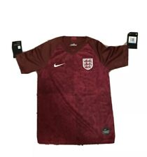 Nike England Breathe Lionesses red away soccer Jersey Shirt Medium $75 Youth