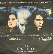 "ECHO & THE BUNNYMEN ‎– People Are Strange (1987 VINYL SINGLE 7"" GERMAN PS)"