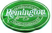 Remington Embroidered Patch Firearms Iron On NEW Shotgun Rifle Logo 556 22 870