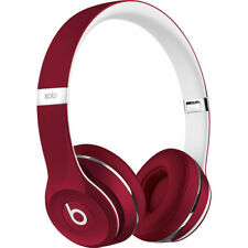 Beats Solo2 On-Ear Wired Headphones Luxe Edition - ML9G2AM/A - Red - New Open Bo