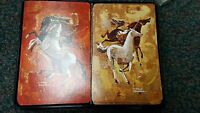 Vintage Horses Double Playing Card Deck