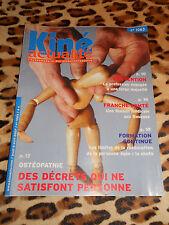 Revue Kiné Actualités - n° 1063, 2007