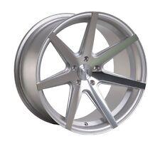 Rohana RC7 19x8.5/9.5 5x114.3 ET15/20 Machine Silver Wheels Rims