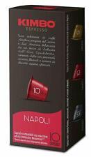 120 Capsule Caffè Kimbo Compatibili Nespresso  Miscela Napoli