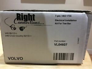 Right Connections 7 Pin Dedicated Wiring Kit Volvo V40/crosscountry 2013-