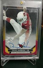 2015 Topps David Johnson Arizona Cardinals SP Rookie Premiere OnCardAuto#116/150