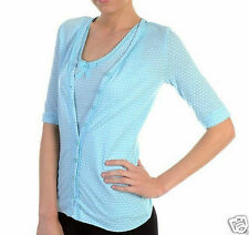 CLARA Button Summer Cardigan by Darling of London Size S RRP $106.00