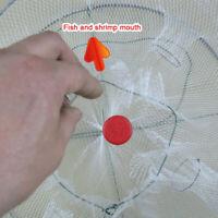 Protable Folded Fishing Net Small Fish Shrimp Minnow Crab Baits Cast Mesh Trap
