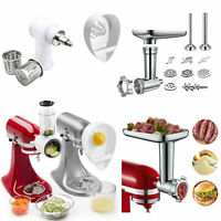 Meat Grinder Slicer Shredder Juicer Citrus Attachment For KitchenAid Stand Mixer
