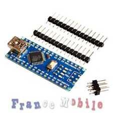 Carte Nano compatible ARDUINO V3.0 ATmega328p 16M 5V USB CH340G non soudée Board