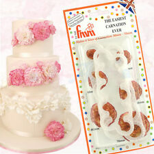 FMM Sugarcraft - The Easiest Carnation Cutter Set of 2 - Sugar Flower Decoration