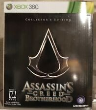ASSASSIN'S CREED: BROTHERHOOD COLLECTOR'S EDITION Bundle XBox 360 *NEW* + DOCTOR
