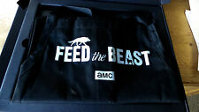 RARE  AMC FEED THE BEAST PRESS KIT BOOK COOKBOOK BBQ CHEF APRON DAVID SCHWIMMER