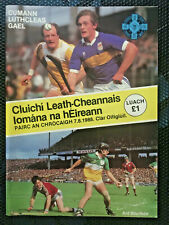 1988 GAA ANTRIM v TIPP & GALWAY v OFFALY All Ireland Hurling S-Final Programme