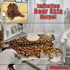 PREMIUM GRADE A Genuine White Tailed Véritable Luxe Cerf Tapis peau masquer