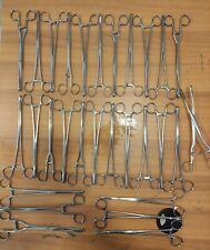 29 Pezzi Pinza Foerster clamps forceps da 25cm.