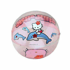 "Inflatable Beach Balls 12"" Sanrio Hello Kitty & Dolphin Age 3+ NIP"