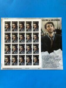 Legends Of Hollywood James Stewart Postage Stamp Sheet