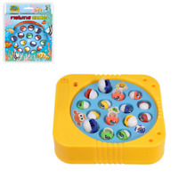 Kids Fishing Game Toy Electric Rotating Catch Toys Set Children Adult Fun